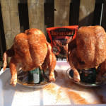 Beer can chicken BJ-style