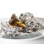 Asiatisk fisk i folie