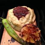 Plankgrillad oxfilé med rökt potatismos