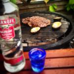 Smirnoff Smash Flank steak