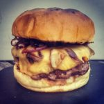 Shiitake Cheese Burger