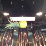 Rotisseriegrillad ananas