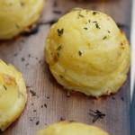 Plankgrillat potatismos