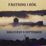 Fästning i rök. Bohus fästning 6:e september