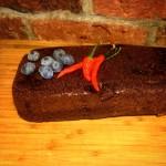 Chokladkaka med Chili & Blåbär