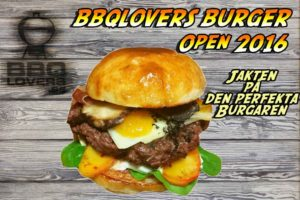BBQ Lovers Burger Open 2016