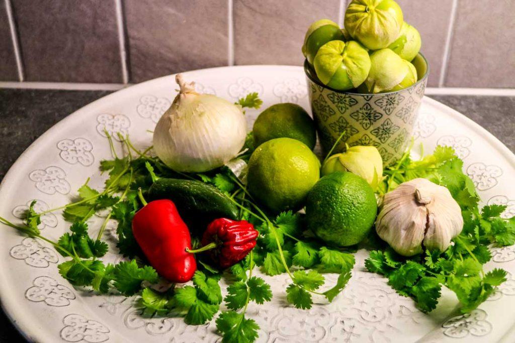 salsa-verde-råvaror