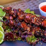 Kycklingspett Thai Style