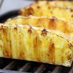 Grillad Ananas med Honung och Chili