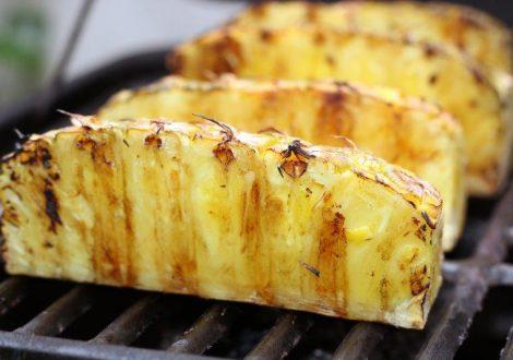 grillad ananas recept