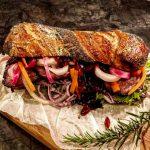 Sliced Pork Sandwich