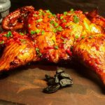 Black Garlic Sticky Chicken